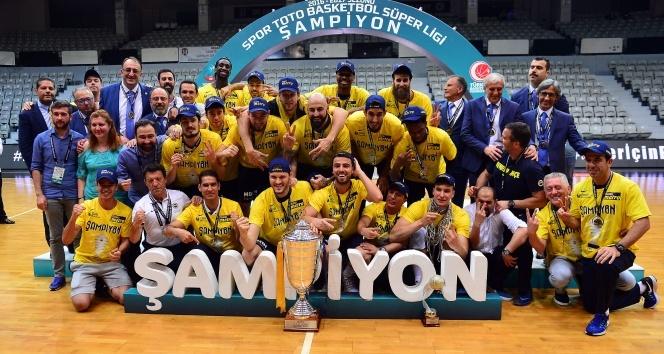 Beşiktaş'ı yenen Fenerbahçe şampiyon