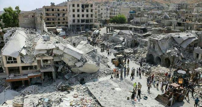Suriye'de hava saldırısı: 16 ölü