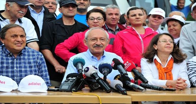 CHP'nin 'Adalet Yürüyüşü'nün 5. günü başladı