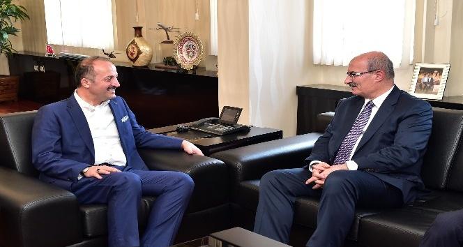 ATO Başkanı Baran'dan Başkan Akgül'e ziyaret