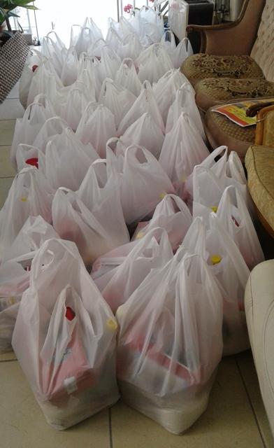 Yenimahalle Kırşehirliler Derneği'nden gıda yardımı