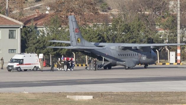 Rus pilotun cenazesi Ankara'ya getirildi