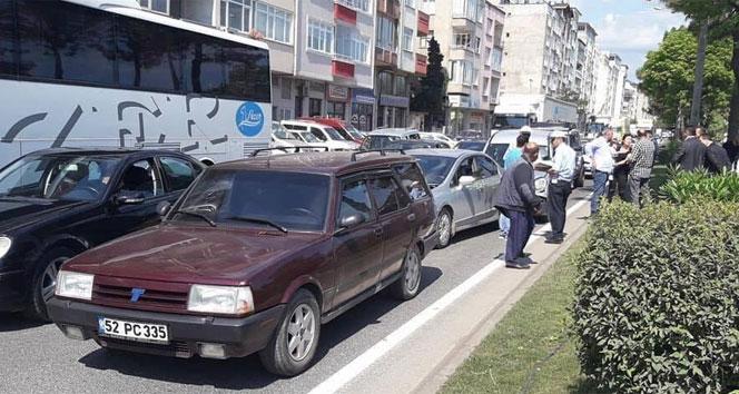 Fatsa'da 2 ayrı trafik kazası: 3 yaralı