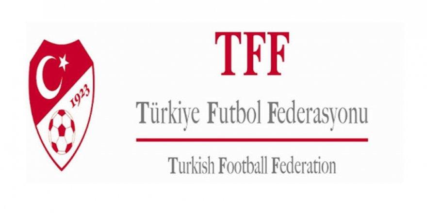 TFF'den bayram mesajı!