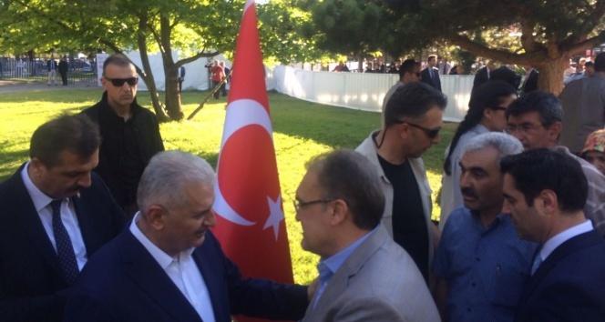"""Başbakan Yıldırım: """"Bizi kardeşlik kurtaracak kardeşlik büyütecek"""""""