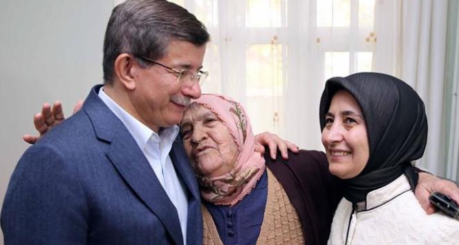 Başbakan Davutoğlu'ndan en 'huzur'lu ziyaret