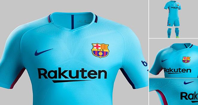 İşte Barca'nın yeni sezon deplasman forması