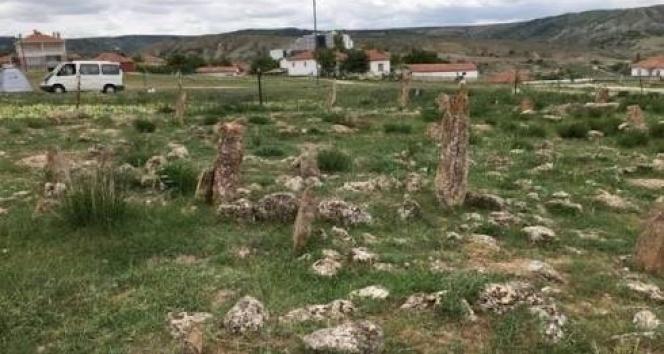 şehidin mezarı ortaya çıktı