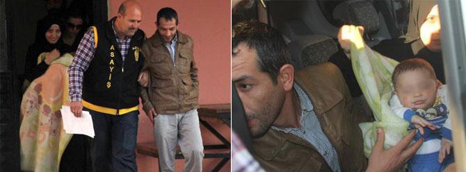 Suriyeli çift bebeklerini saklayıp kaçırıldı diyerek fidye istedi