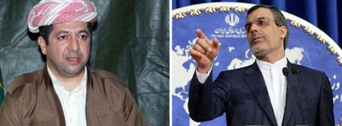 İran'dan 'bağımsız Kürt devletine' ret
