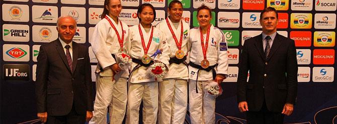 Grand Prix'in ilk gününde Türkiye'ye 3 madalya