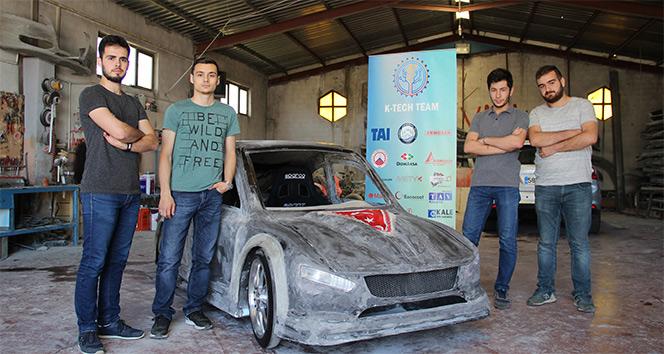 KTÜ'lü öğrenciler kilometrede 1 kuruş yakan hibrit araç geliştirdi