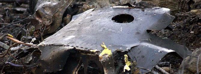 Çin'de savaş uçağı fabrika binasına çakıldı