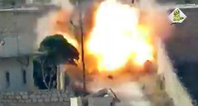 Muhalifler Esad güçlerini vurdu