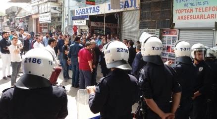 Bursa'da esnafla polis arasında yıkım gerginliği! haberi