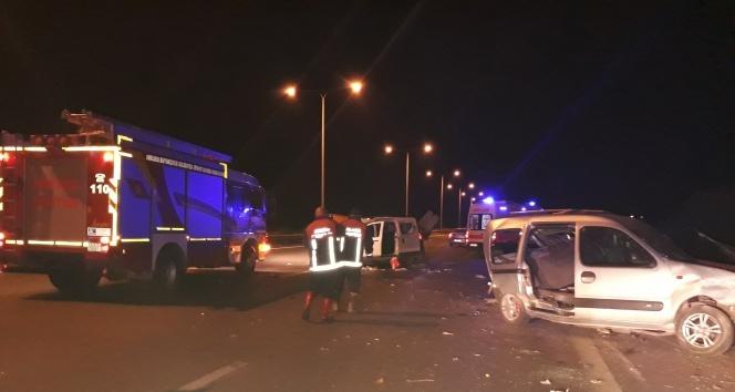 Başkentte feci kaza: 9 yaralı