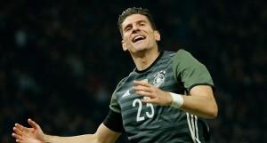 Almanlar Mario Gomez dedi
