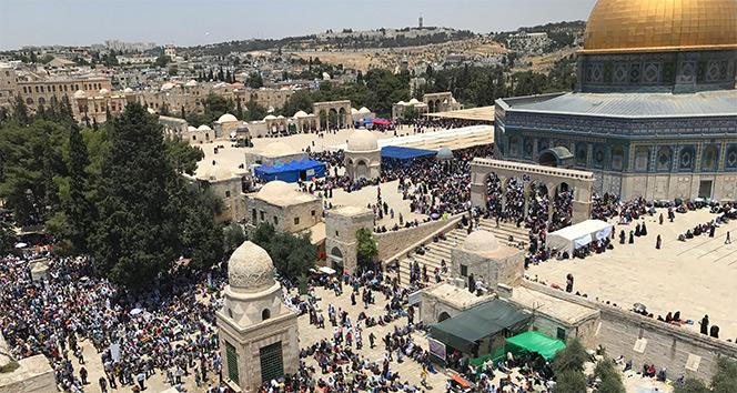 İsrail'den Mescid-i Aksa açıklaması