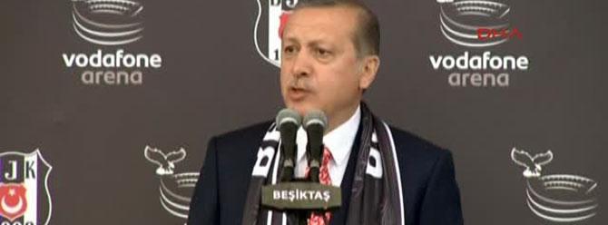 Erdoğan'dan Beşiktaş'a tebrik mesajı