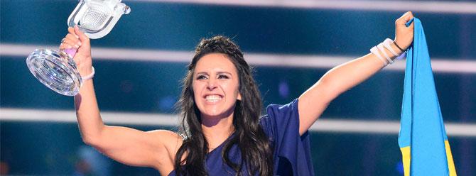 Eurovision'u Jamala (Cemile) ile Ukrayna aldı