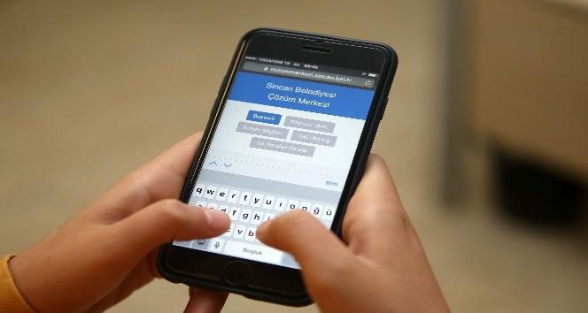 Sincan Belediyesi Çözüm Merkezi 7 ayda 44 binden fazla çağrıyı cevapladı