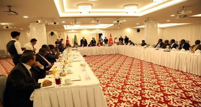 Türkiye iş dünyası Afrika ülkeleri büyükelçileriyle bir araya geldi