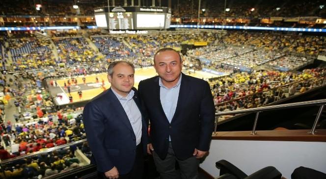 Bakan Kılıç Fenerbahçe Erkek Basketbol Takımını Kutladı