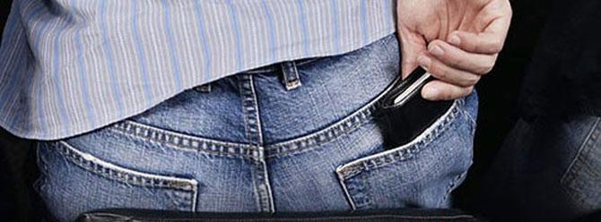 'Arka cepte cüzdan taşımayın!'