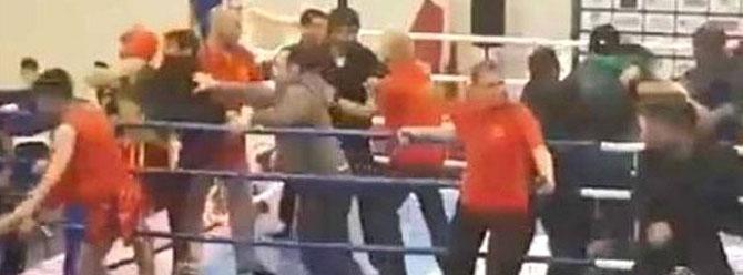 Azeri ve Ermeni kung fu'cular birbirine girdi!