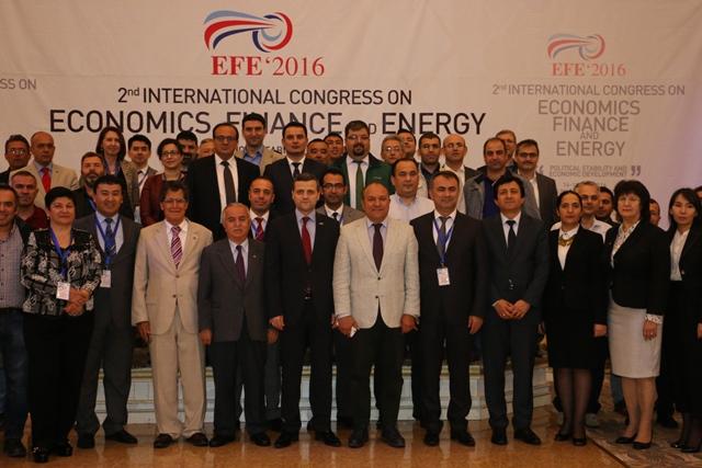 2.Uluslararası Ekonomi, Finans ve Enerji Kongresi Kazakistan'da Başladı
