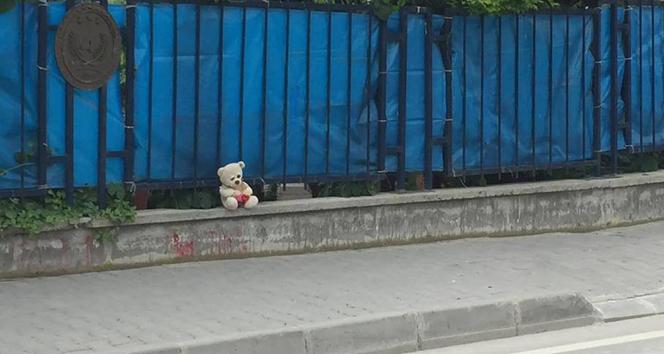 Bolu'da oyuncak ayılı bomba alarmı