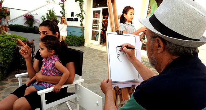 2 dakikada karikatür çizilir mi?' demeyin