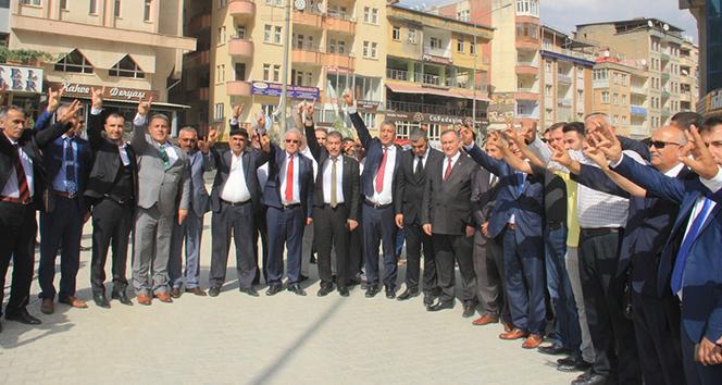 MHP Hakkari il başkanlığının açılışı yapıldı