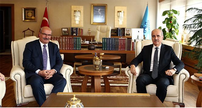 ATO yönetimi Kültür ve Turizm Bakanı Kurtulmuş'u ziyaret etti