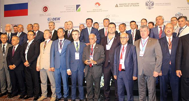 Türkiye-Rusya İş Forumu'nda 100 milyar dolarlık hedef vurgusu