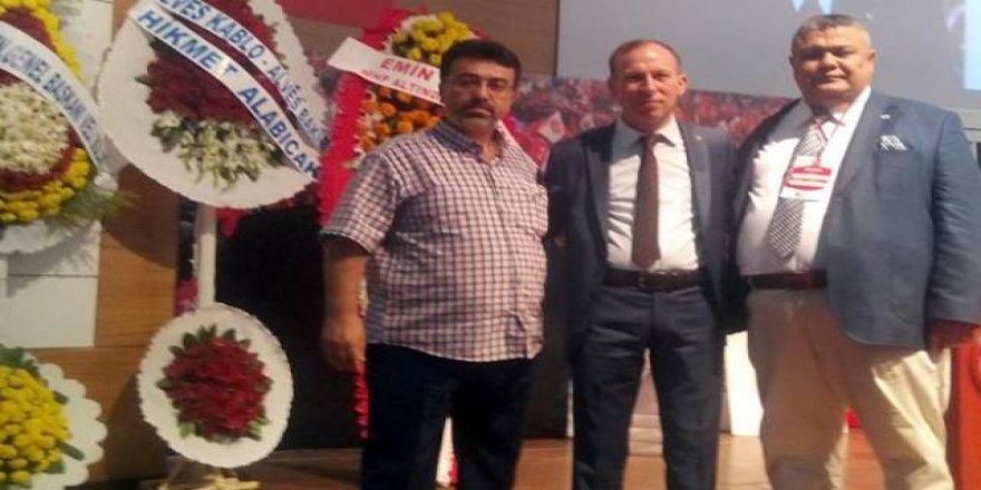 MHP'li Başkan'a muhtardan tebrik