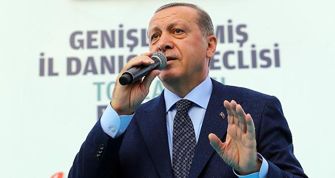 Sen kimsin ki Türkiye'nin Cumhurbaşkanına konuşuyorsun?