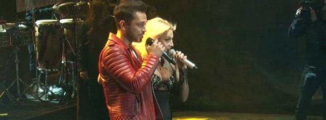 Hadise ile Murat Boz coşturdu