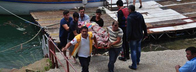 Turistleri taşıyan cip baraja uçtu: 1'i çocuk üç kişinin cesedine ulaşıldı!