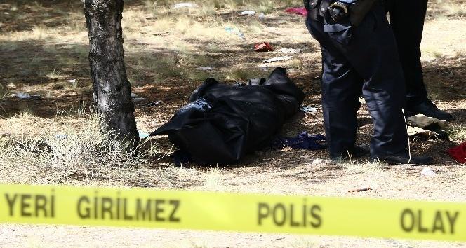 Ormanda ağaca asılı kadın cesedi bulundu