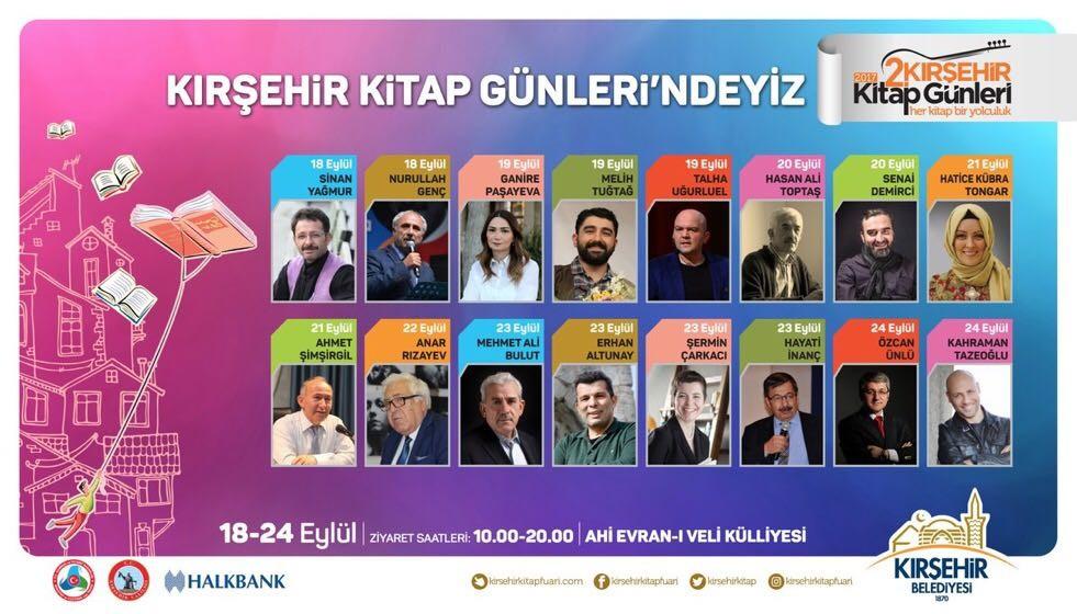 Kırşehir'de 2. Kitap Günleri düzenlenecek