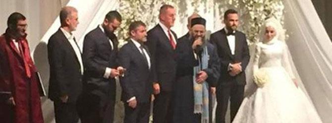 Aziz Yıldırım, Cübbeli Ahmet Hoca'nın kızının düğününde