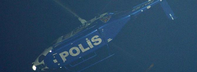 İstanbul'da helikopter destekli terör örgütü operasyonu