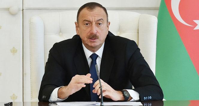Aliyev, Binali Yıldırım'ı tebrik etti