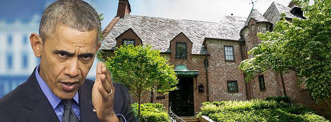 Obama başkanlığı bırakınca bu eve taşınacak