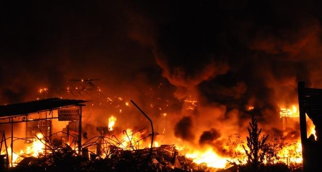Diyarbakır'da mühimmat deposunda yangın