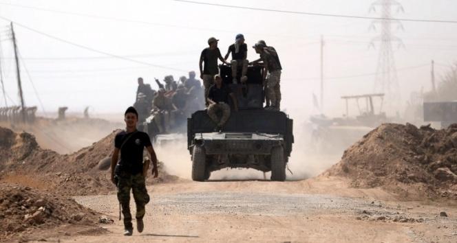 Irak ordusu Kerkük'te güvenliği sağladı