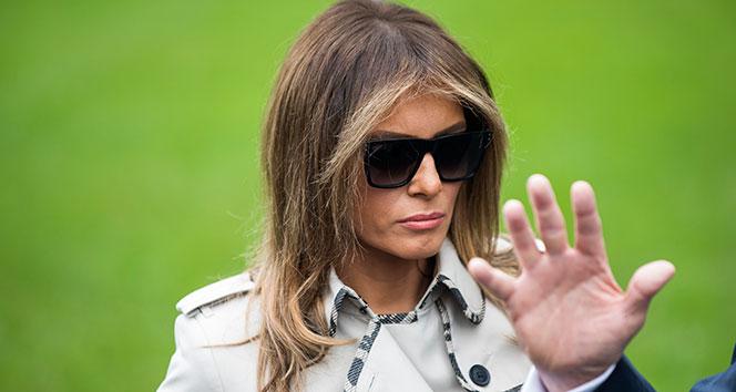 Melania Trump, daha az harcıyor