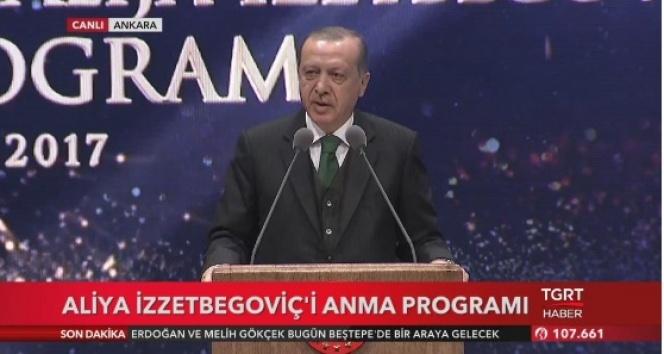 Aliya İzzetbegoviç'in Cumhurbaşkanı Erdoğan'a vasiyeti