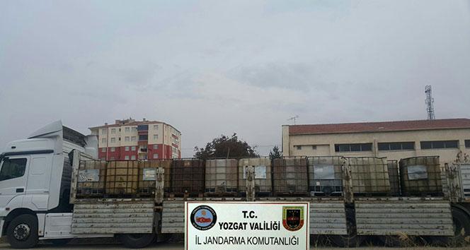 Yozgat'ta kaçak madeni yağ ele geçirildi